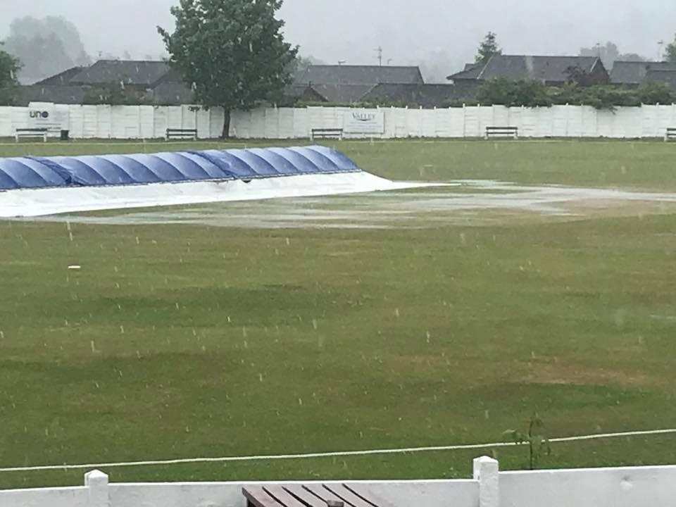 raining at crompton cricket club